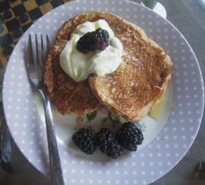 Lemon quark pancake