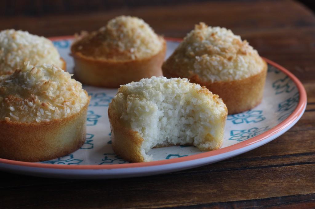 Coconut fairy cakes