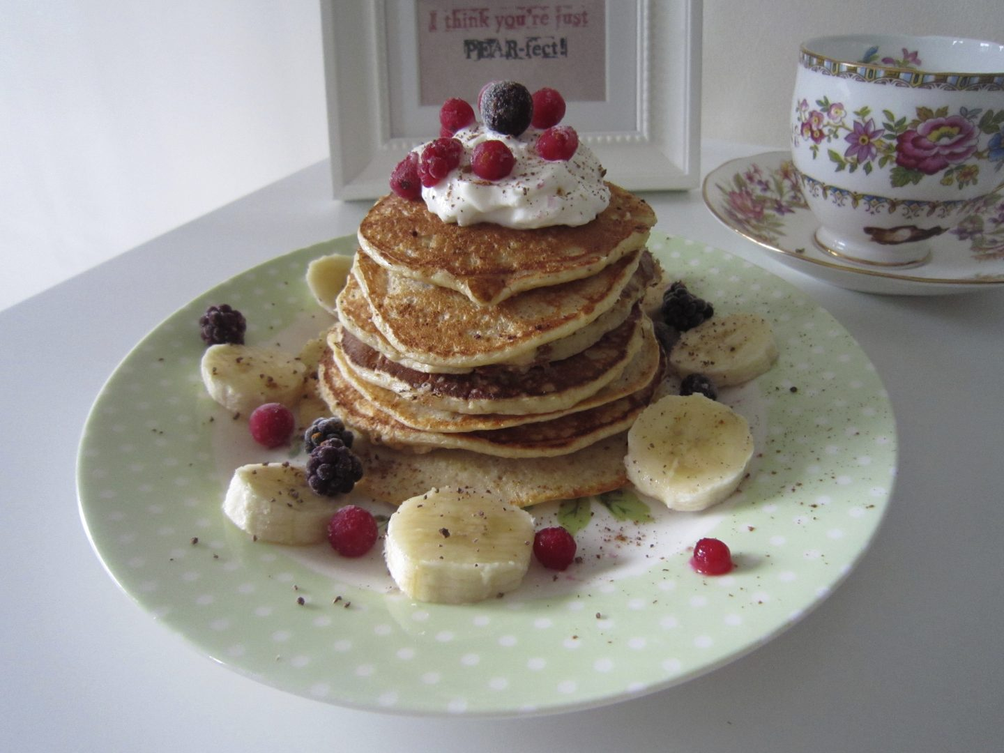 Greek Yoghurt Healthy Pancake Recipe