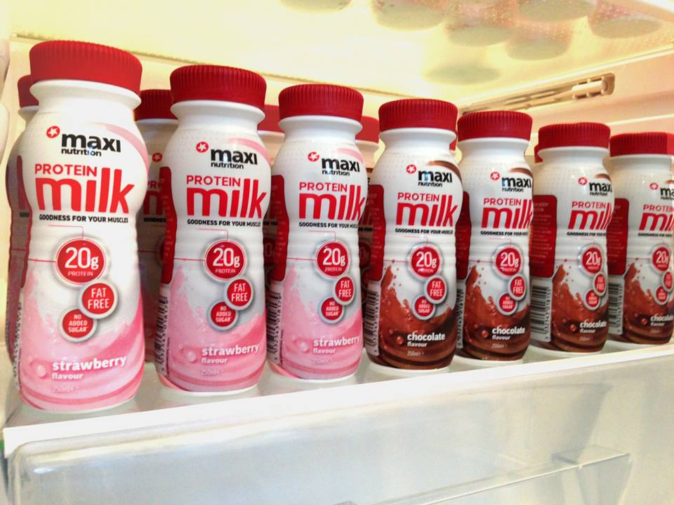 MaxiNutrition Protein Milk Review