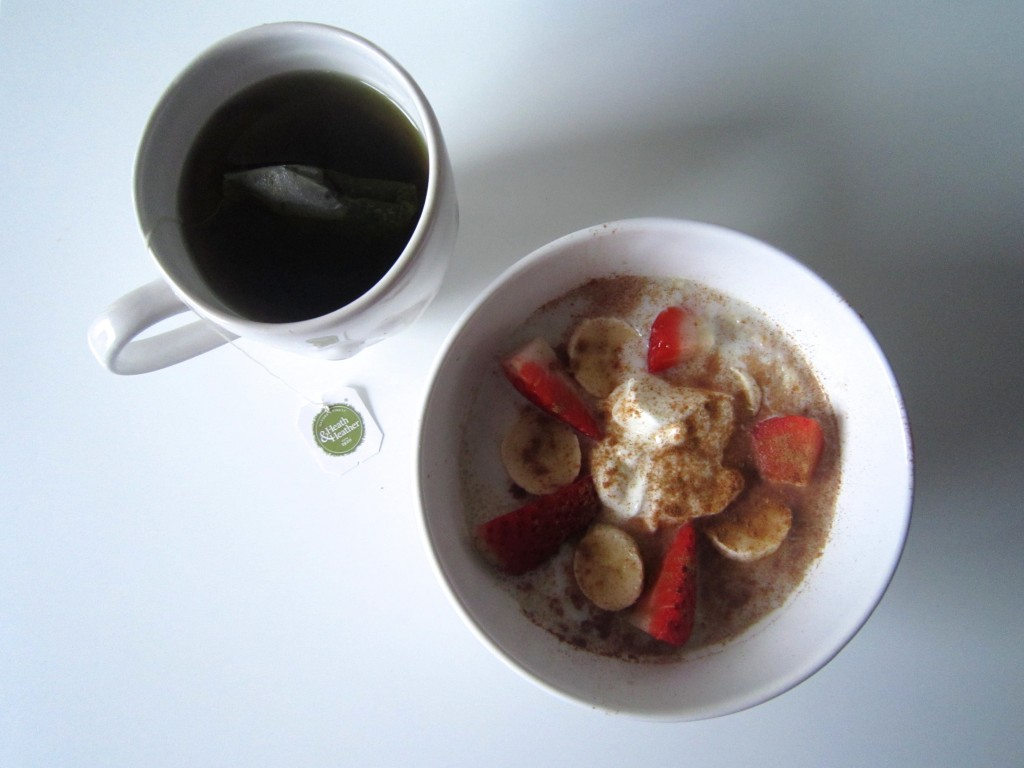 Porridge and nettle tea