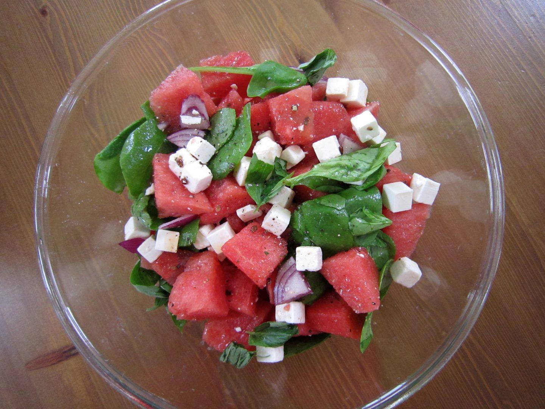 Watermelon & Feta Cheese Salad