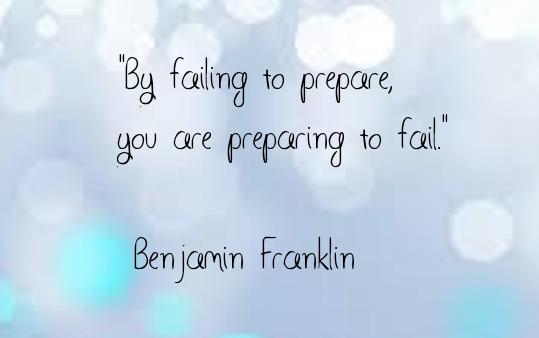 Failing to prepare