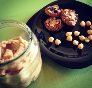 Healthy cookie recipe made with chickpeas & chocolate chips!