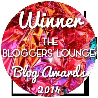 BL Awards Winner Blog Badge foil