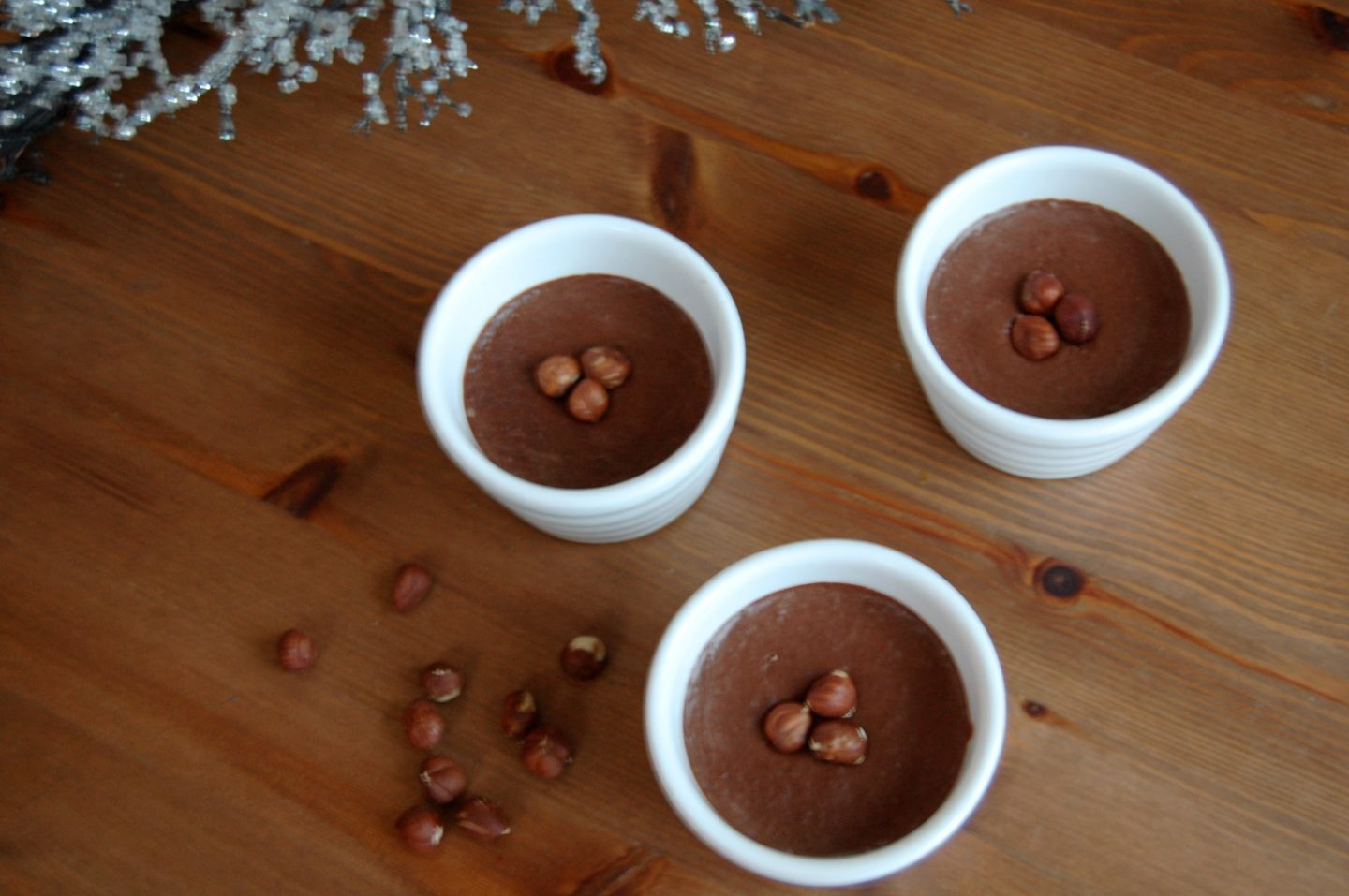 Healthy Nutella Pudding