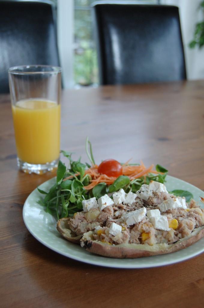 Sweet Potato & Tuna Melts