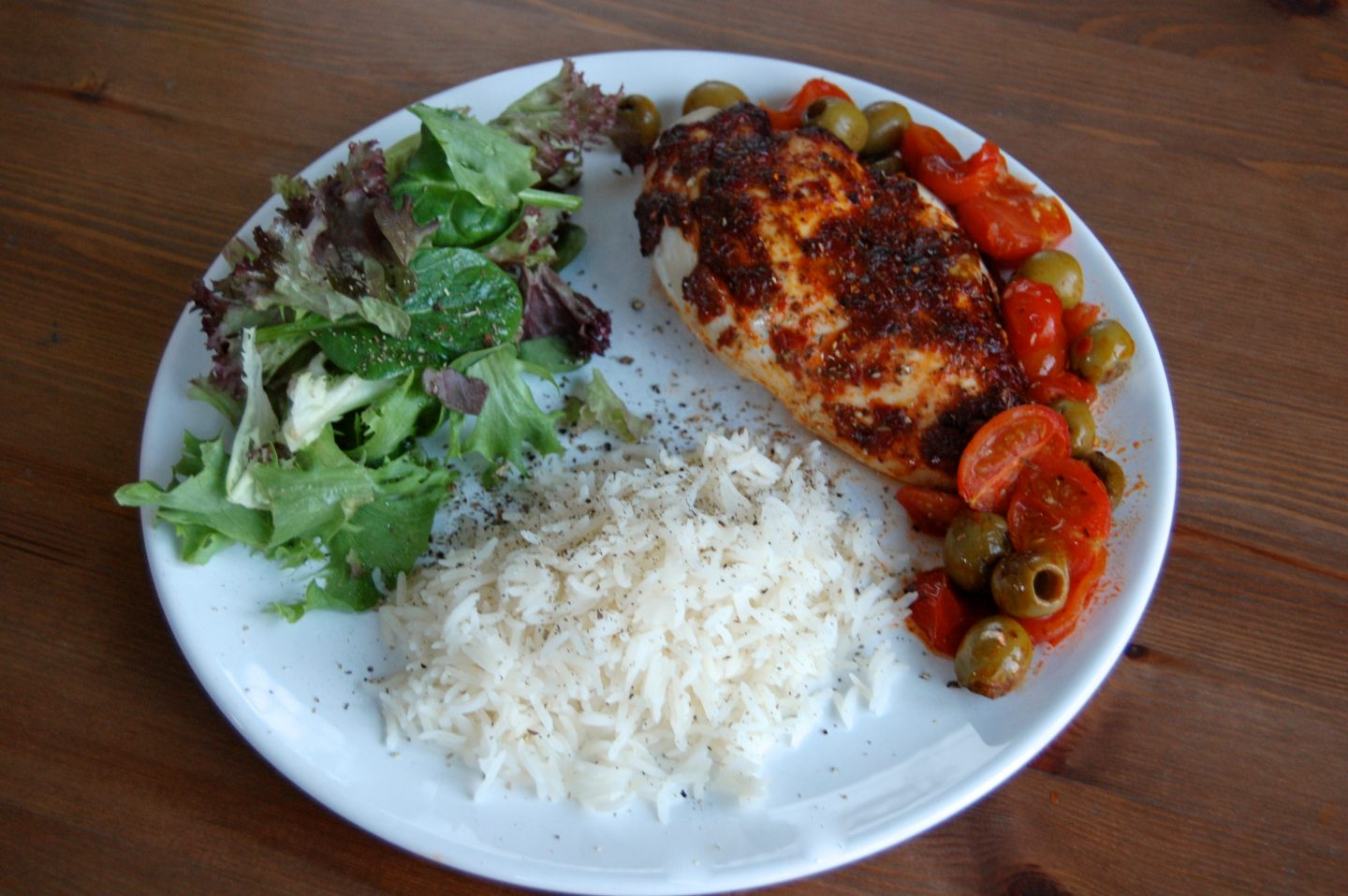 Spanish Chicken with Harissa