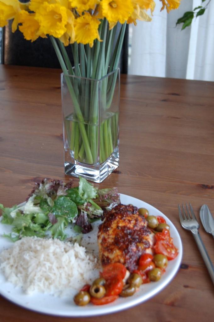 Healthy Spanish Chicken