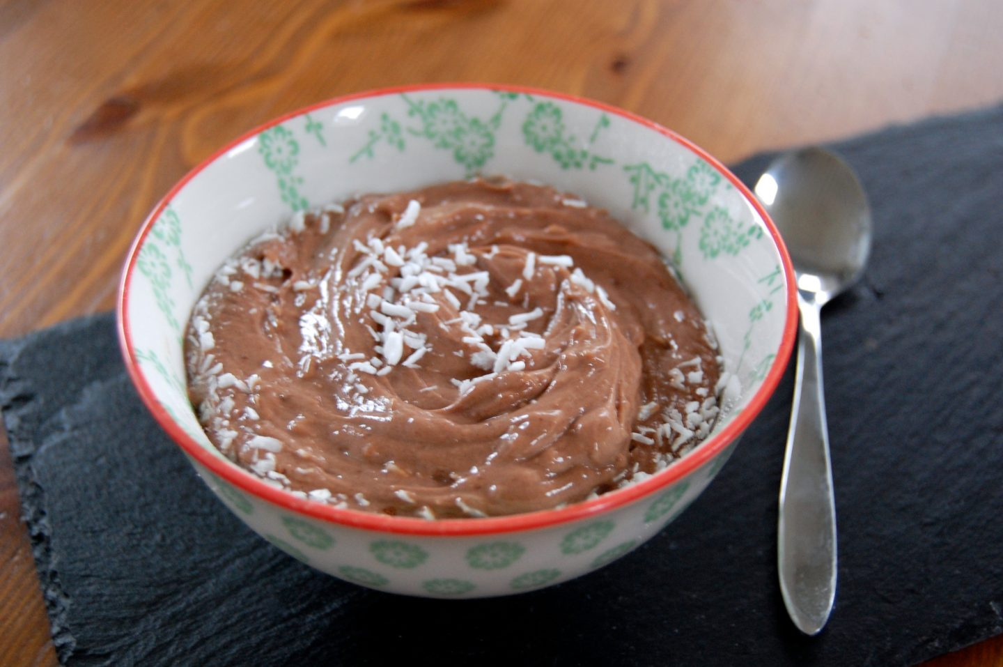 Quick Chocolate Protein Mousse