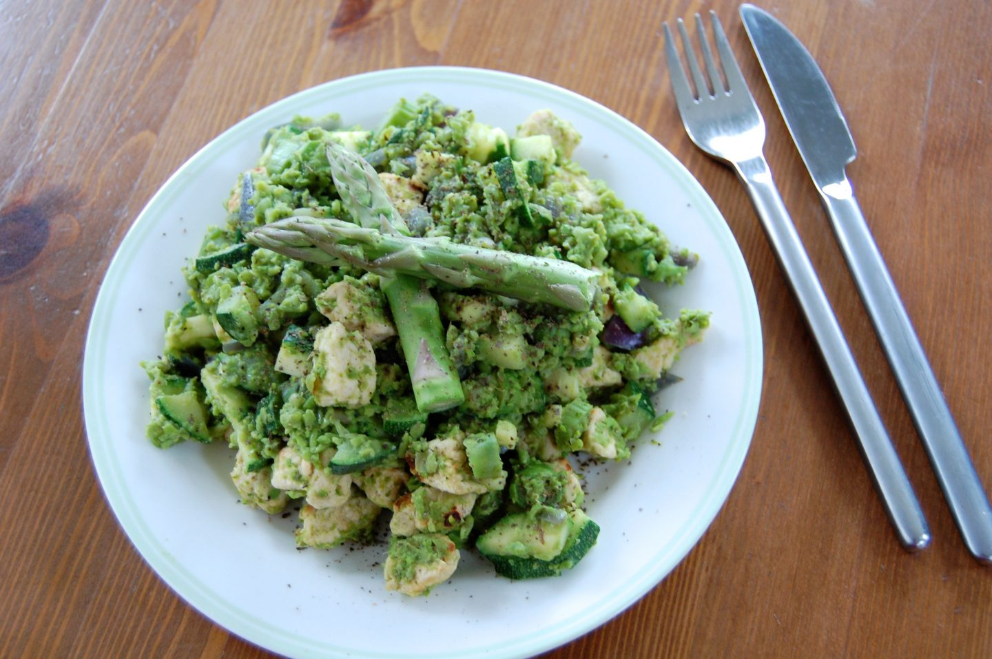 Spring Green Medley with Quorn