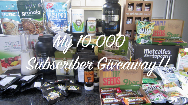 My 10,000 Subscriber YouTube Giveaway!!