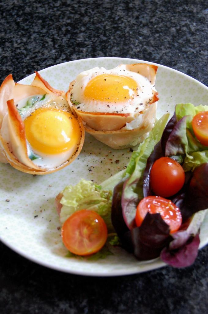 Chicken & Egg Muffin
