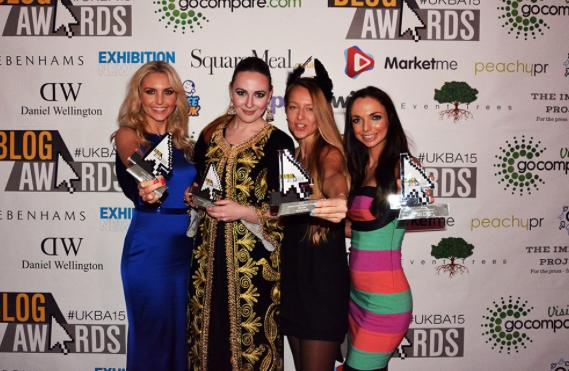 Uk Blog Awards 2015