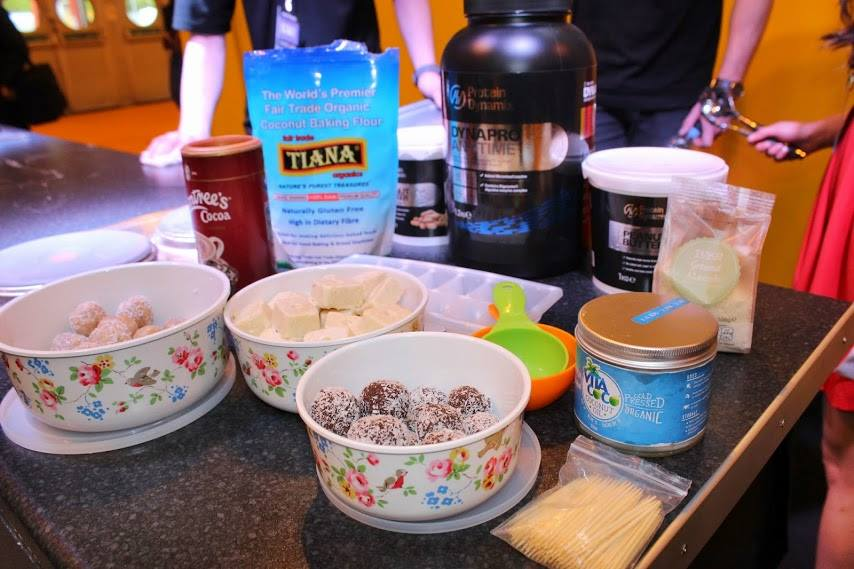 Baking at Body Power Expo 2015