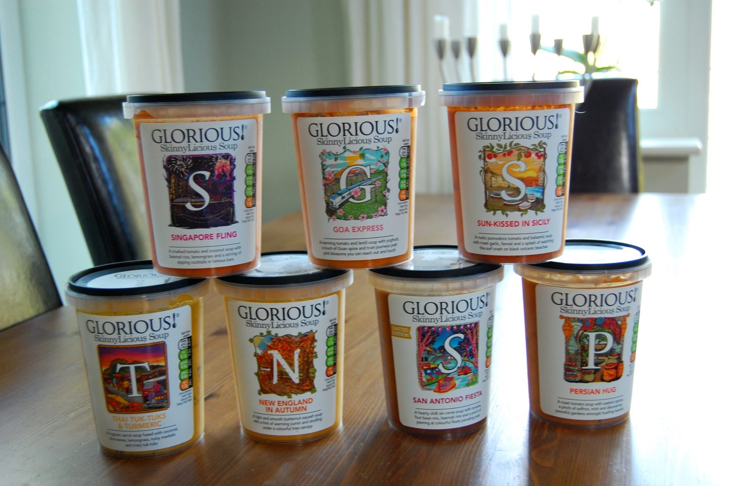 GLORIOUS! SkinnyLicious Healthy Soup Review