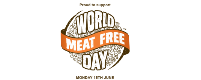 World Meat Free Day – June 15th!