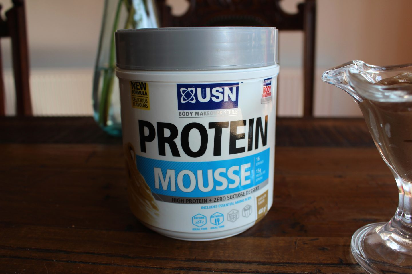 USN Caffe Latte Protein Mousse Review & Discount Code
