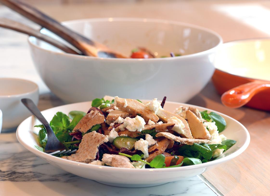 Vegetarian Fattoush Salad