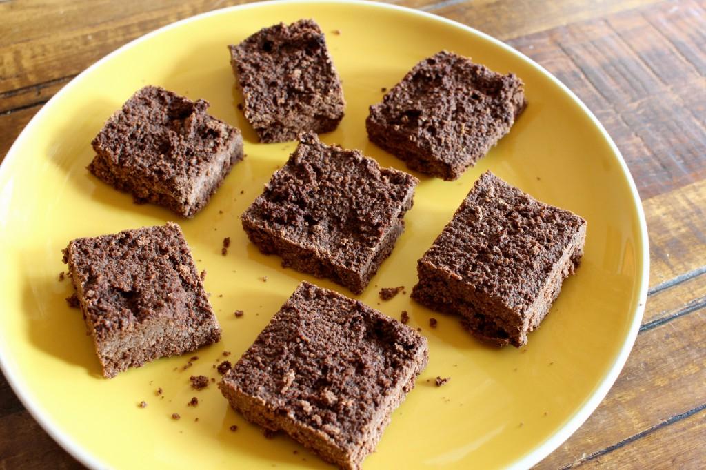 Healthy Coconut Brownies