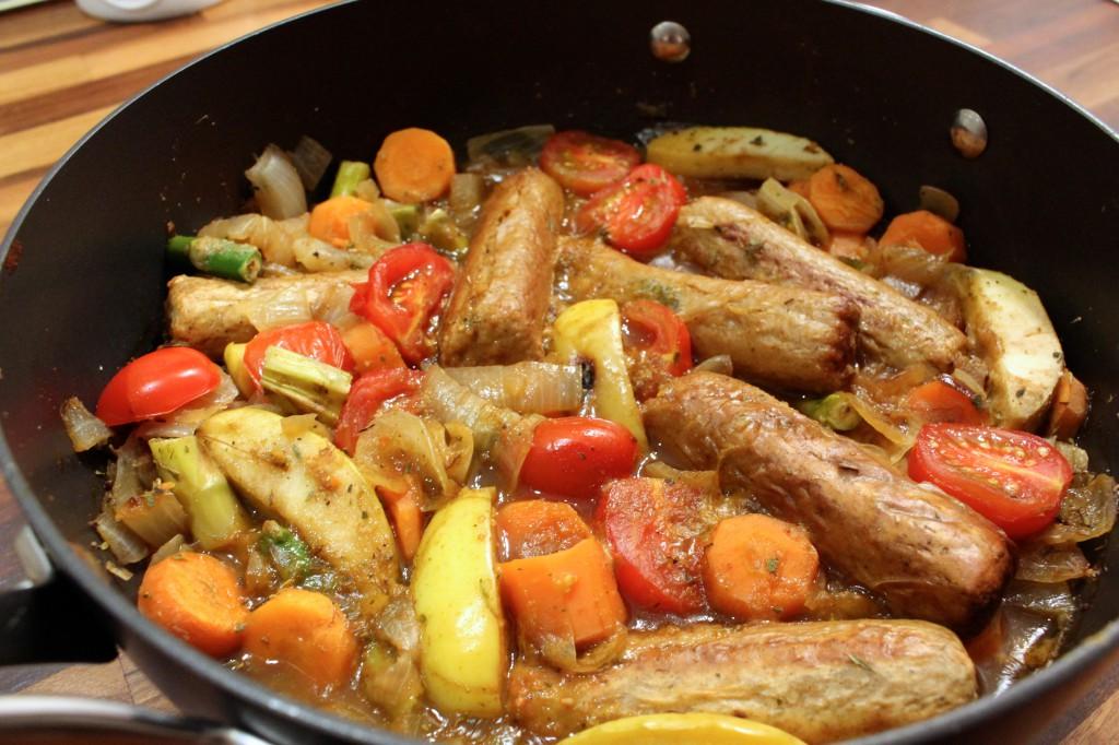 Healthy Quorn Sausage Casserole