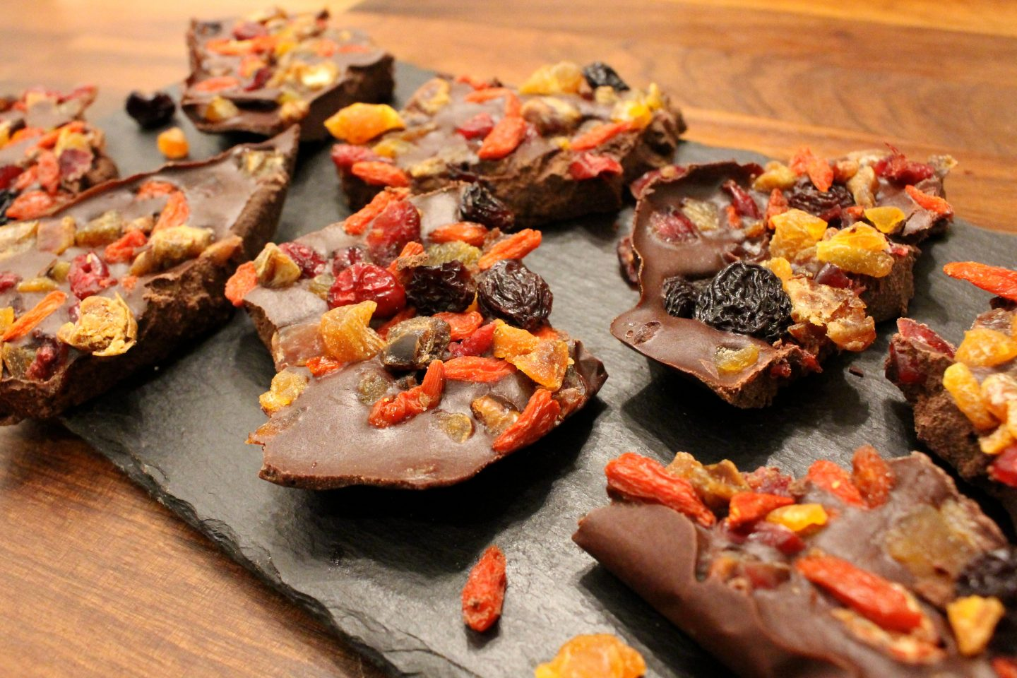 Homemade Dark Chocolate Bark