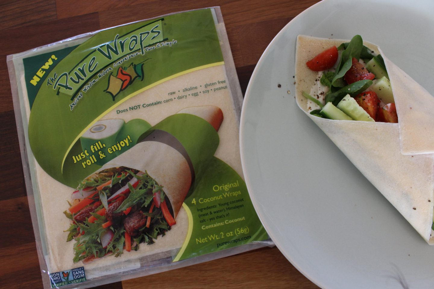 The Pure Wraps (made from coconut!) Review