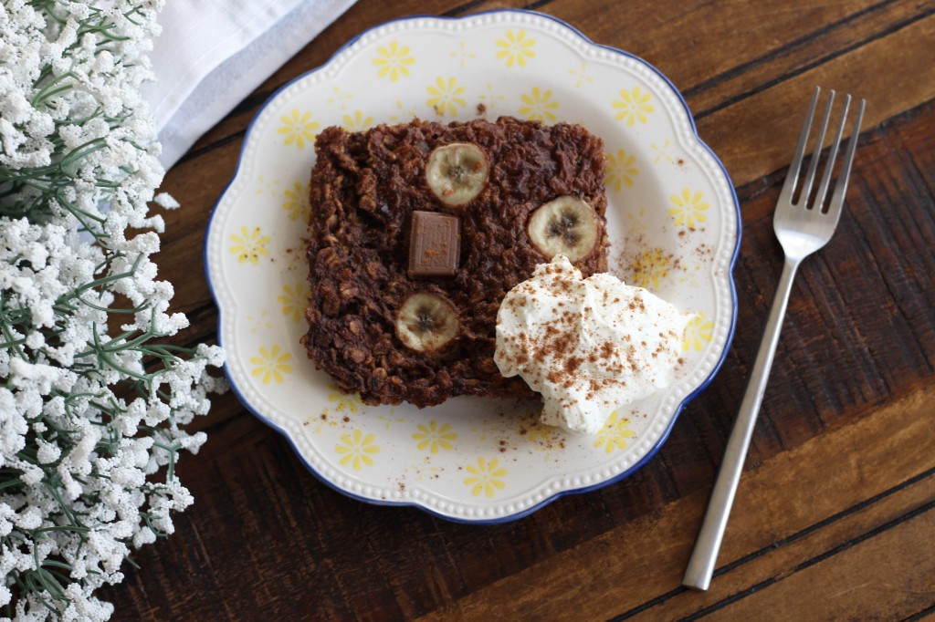 Healthy Baked Chocolate Oats