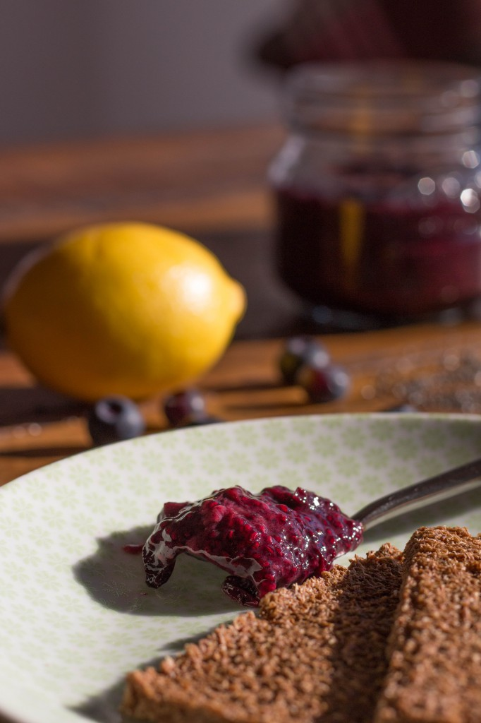 Blueberry & Chia Seed Jam