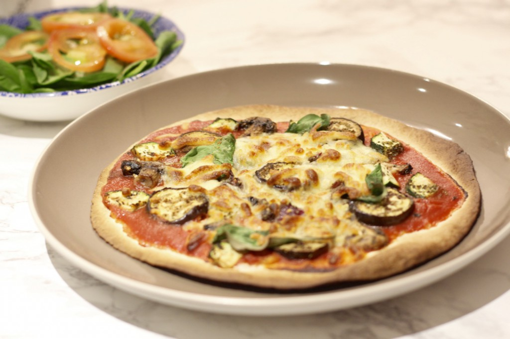 Healthy Tortilla Pizza