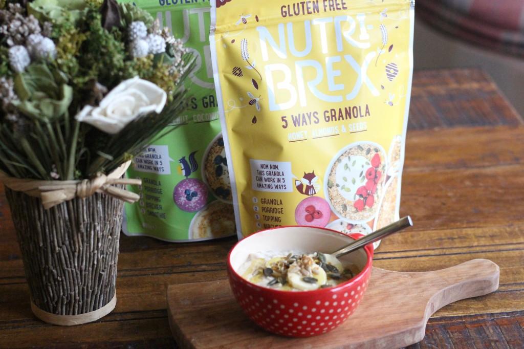 Nutri-Brex 5 Ways Granola