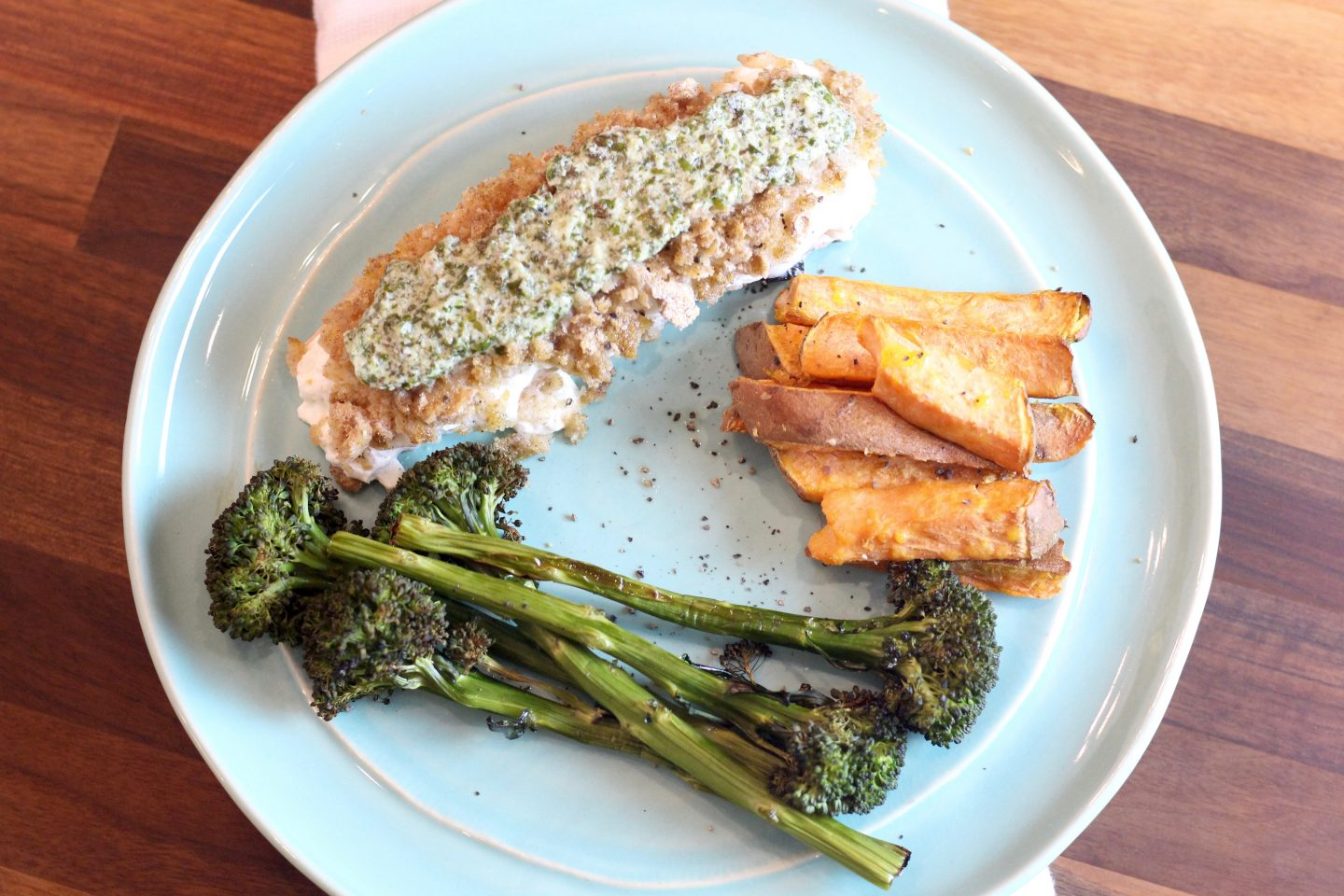 Healthy Baked Salmon Recipe