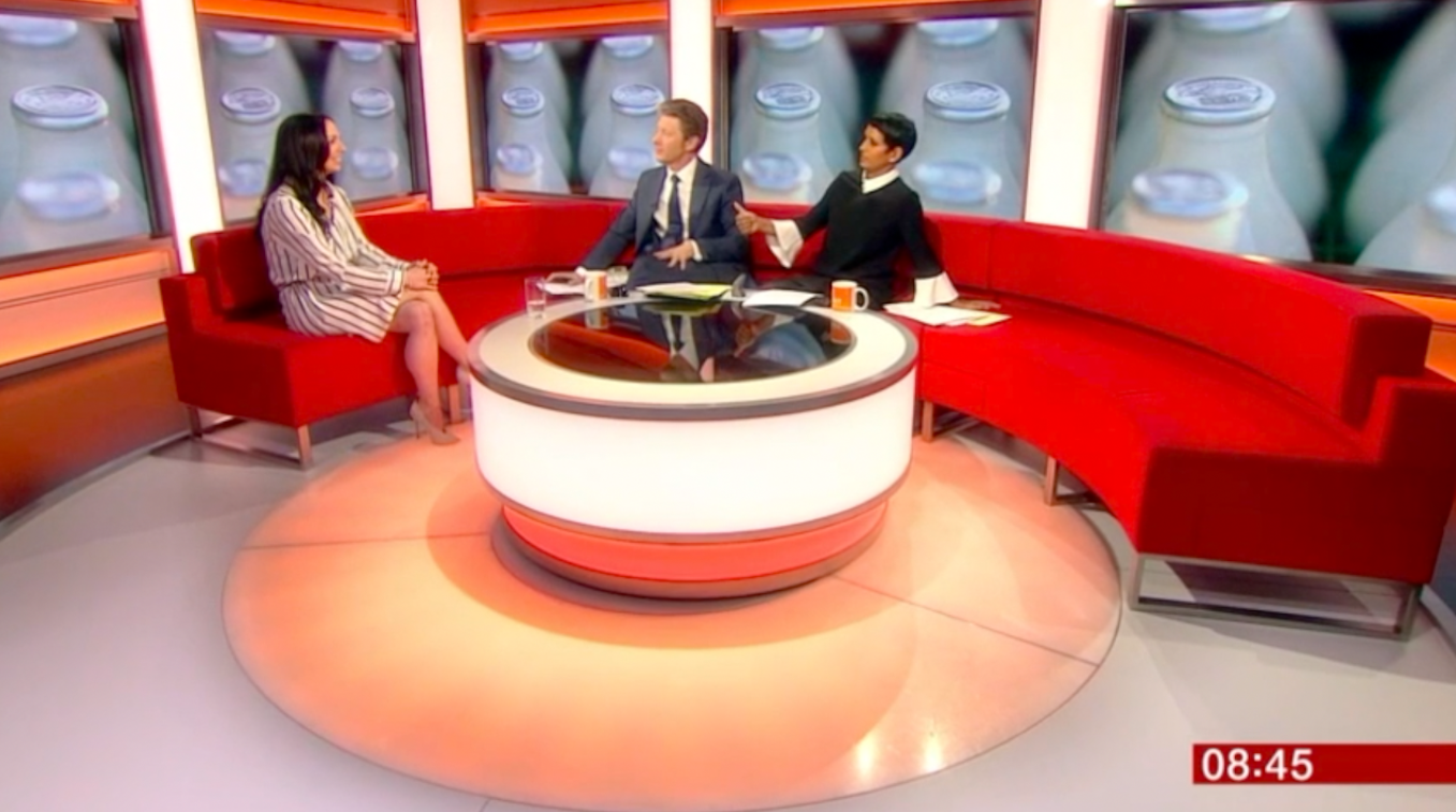 Is Dairy Healthy? My BBC Breakfast Interview on Plant Based Milks!