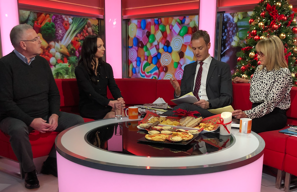 Physical Activity Calorie Expenditure Labelling – My Interview on BBC Breakfast!