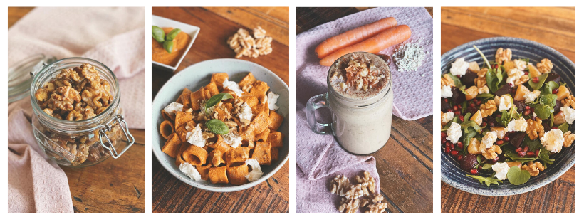 4 Healthy Recipes with California Walnuts